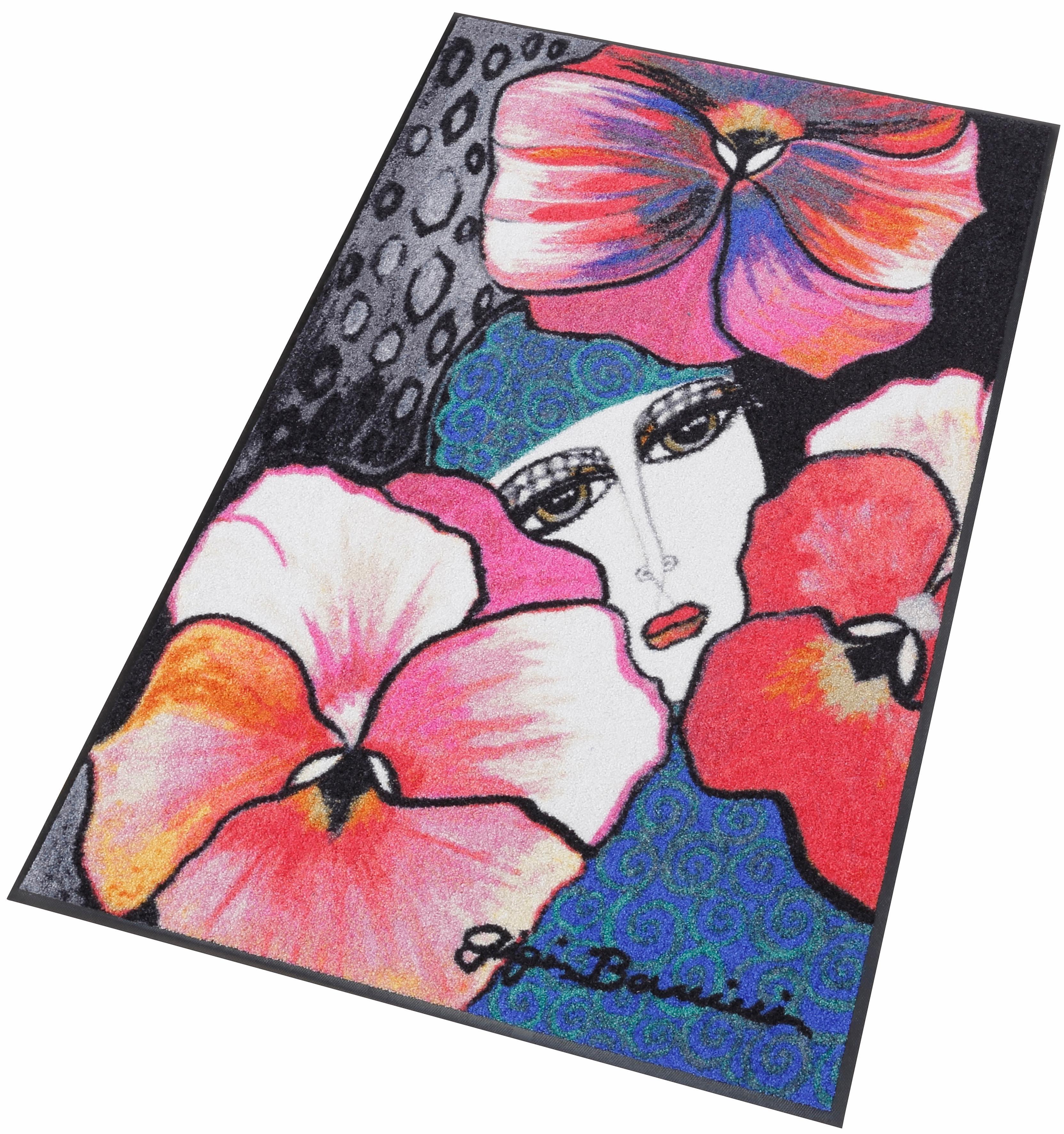 Läufer »Mistero by Gigi Banini«, Salonloewe, rechteckig, Höhe 7 mm, waschbar, In- und Outdoor mit rutschhemmender Beschichtung