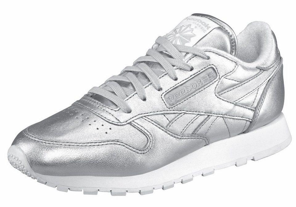 Reebok Sneaker »Classic Leather Spirit« in silberfarben