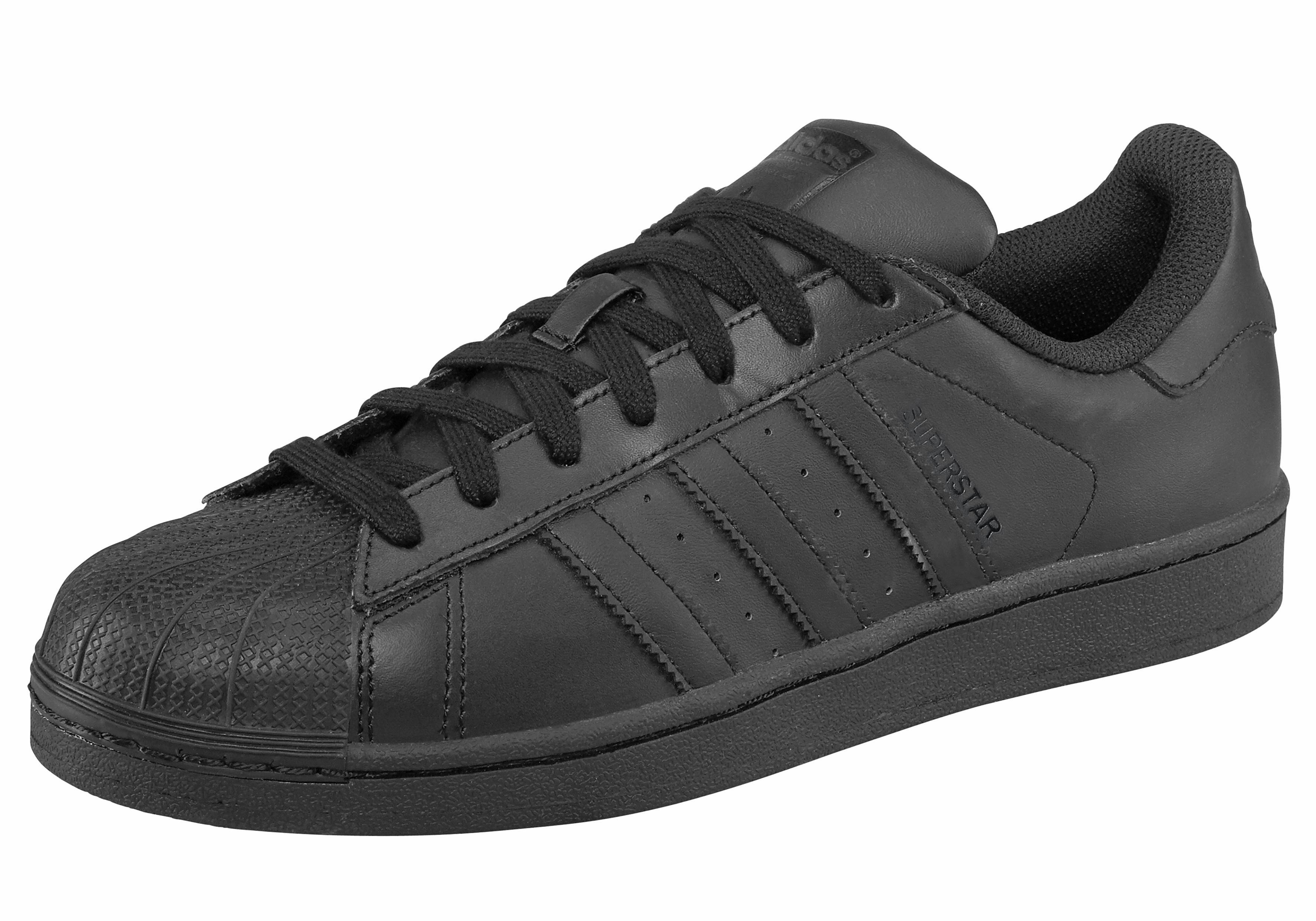 adidas Originals Superstar Foundation Sneaker  schwarz-schwarz