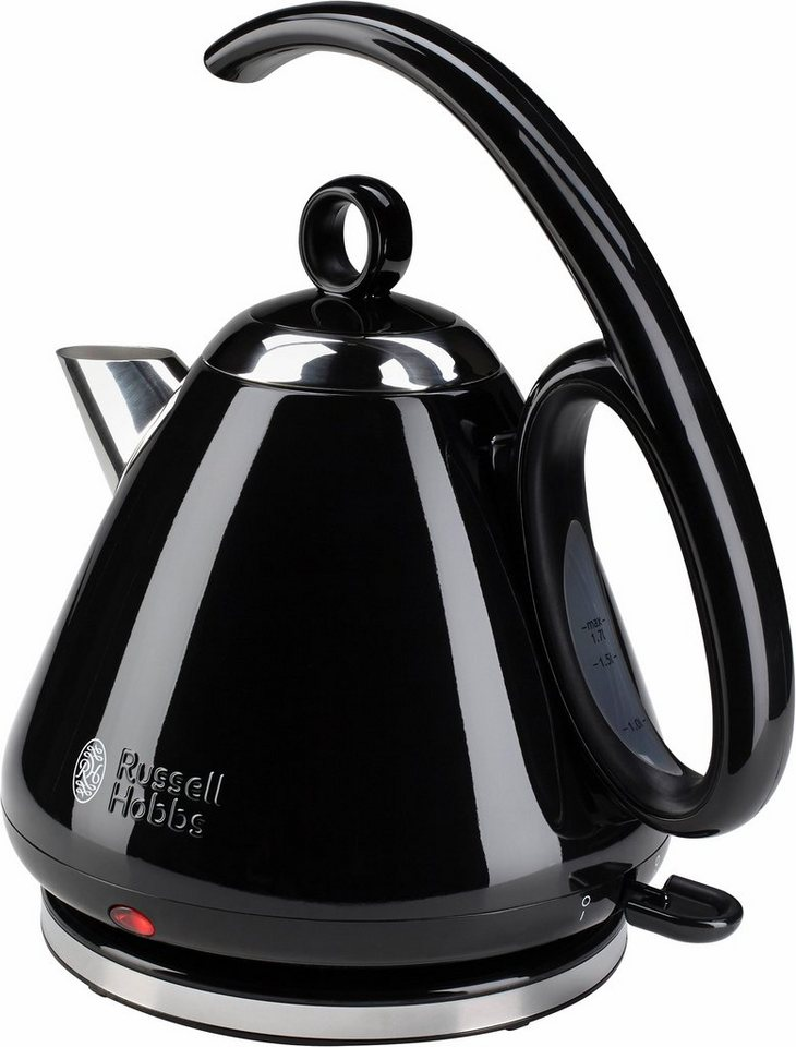 russell hobbs legacy wasserkocher 1 7 liter 2400 watt edelstahl schwarz online kaufen otto. Black Bedroom Furniture Sets. Home Design Ideas