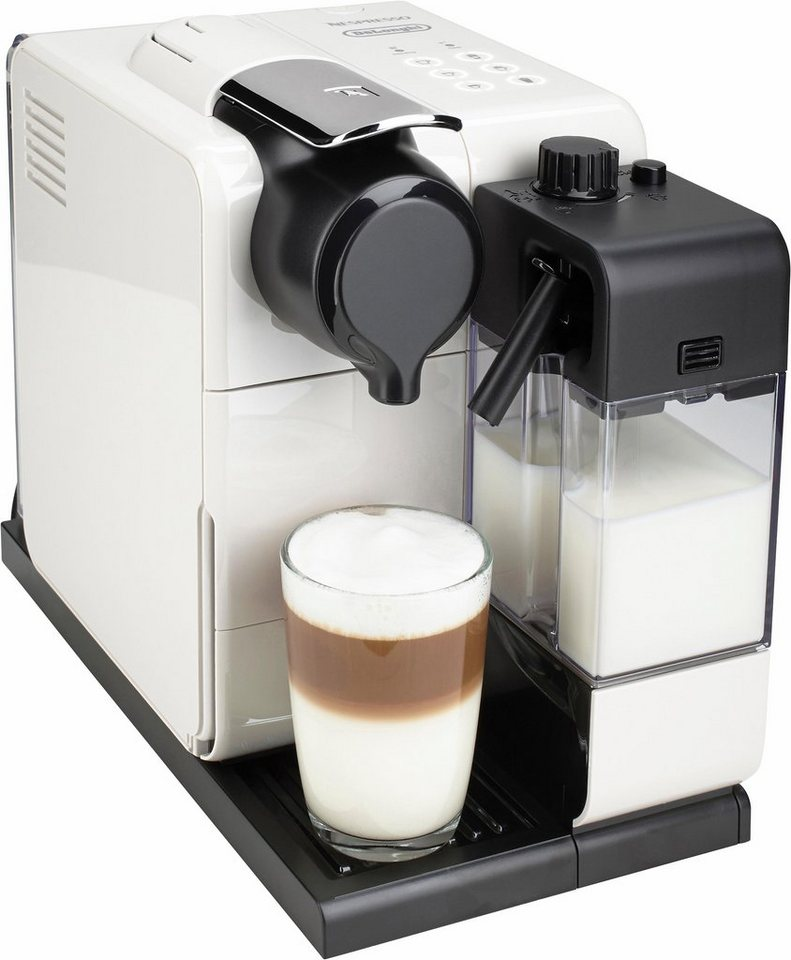 De'Longhi NESPRESSO Kapselmaschine »Lattissima EN 550.W«, 19 bar, 1400 Watt in Glam White