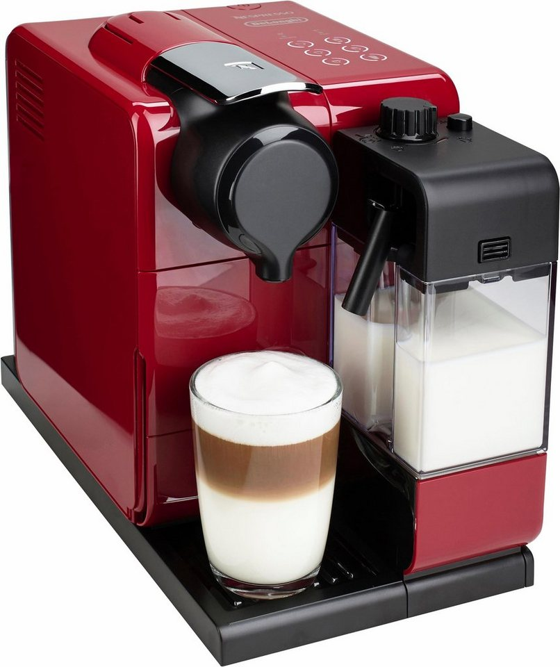 delonghi kapselmaschine nespresso lattissima en 550 r online kaufen otto. Black Bedroom Furniture Sets. Home Design Ideas