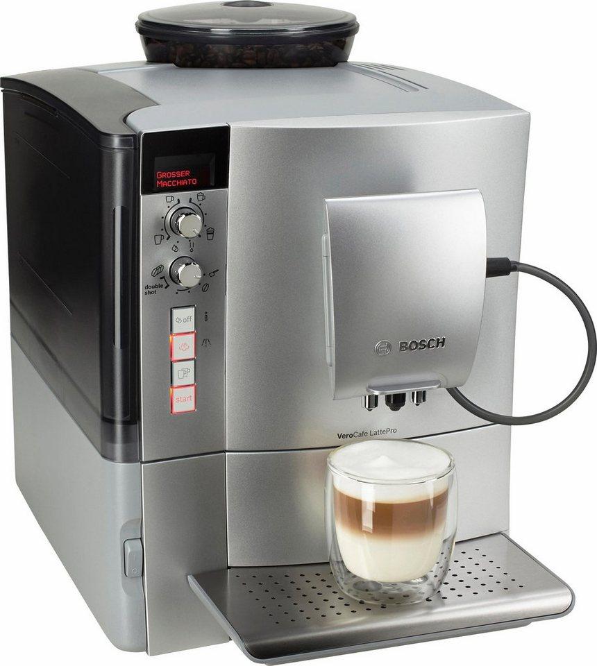 Bosch Kaffeevollautomat VeroCafe LattePro TES51551DE aus 'The Taste' in silber