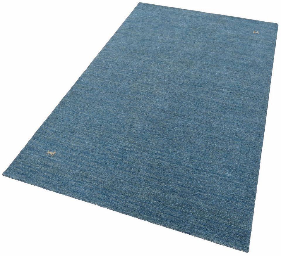 Orientteppich modern blau  Orientteppich »Gabbeh Supreme«, Parwis, rechteckig, Höhe 20 mm, 4 ...