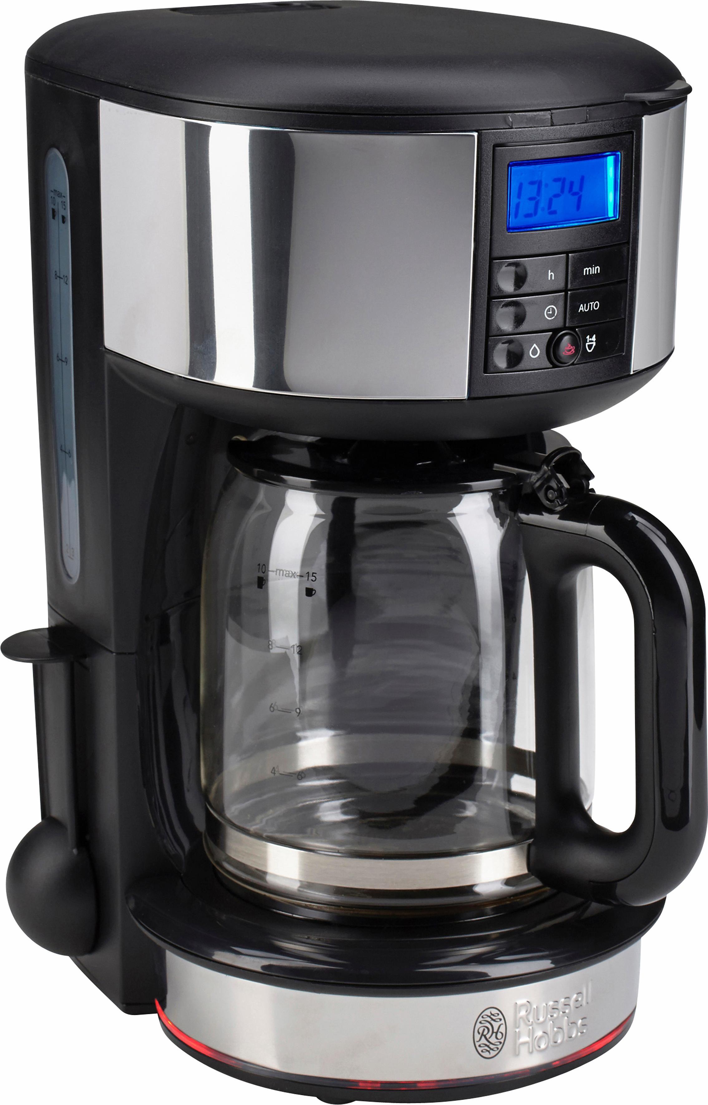 RUSSELL HOBBS Filterkaffeemaschine Legacy 20681-56, 1,25l Kaffeekanne, Papierfilter 1x4, Selbstreinigungsfunktion