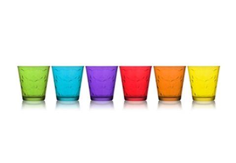 Mäser Trinkbecher, Glas (6er Set)