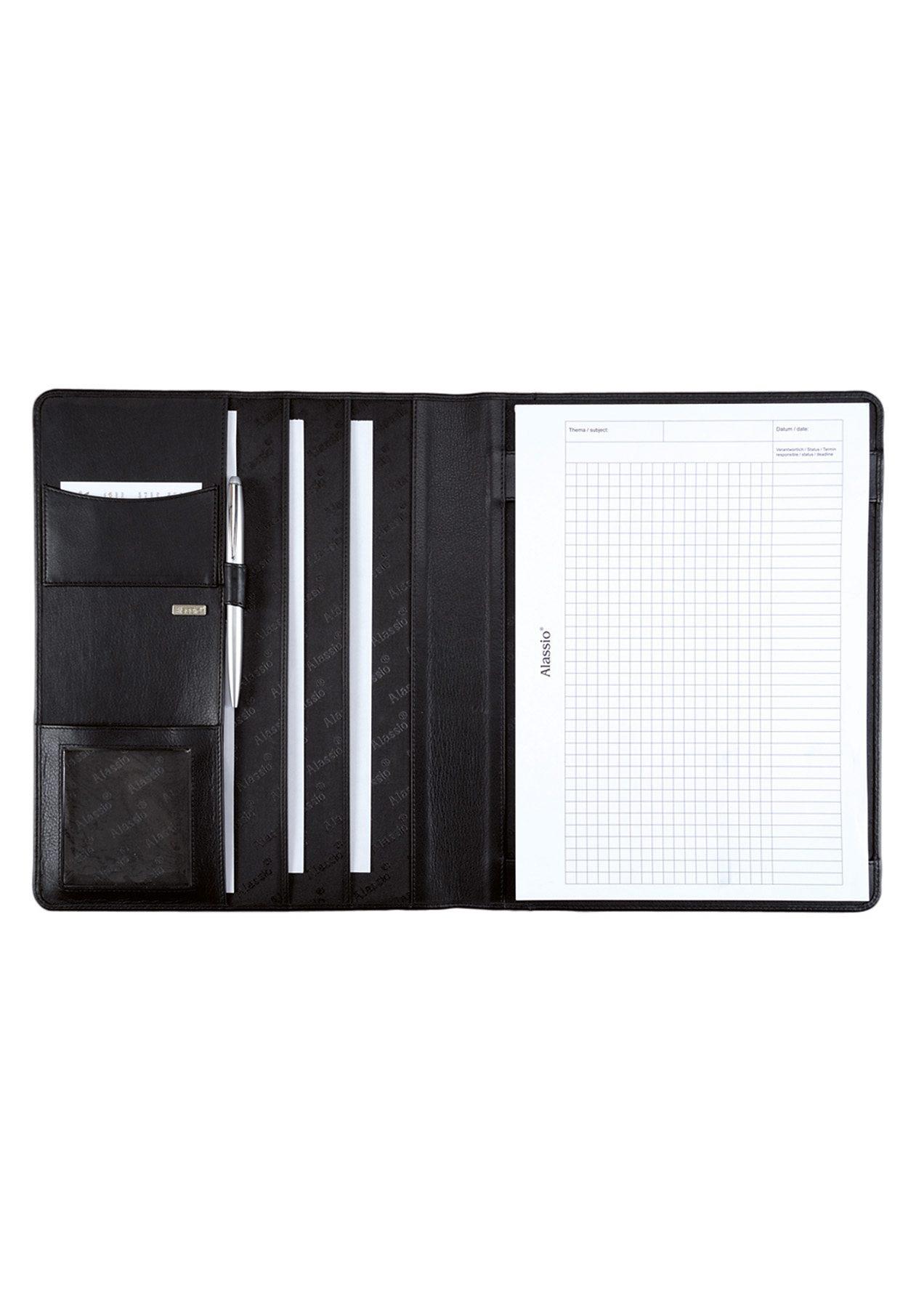Alassio® Schreibmappe aus Nappaleder A4, »Cremona«