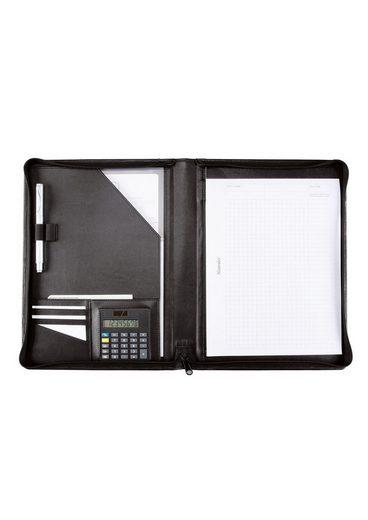 Alassio® »catana« Nappaleder A4 Mit Reißverschluss Aus Schreibmappe wr7pqTx0Yr