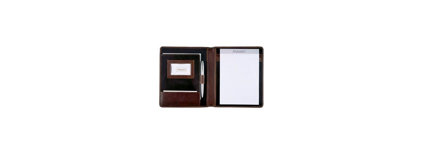 Alassio® Schreibmappe aus pflanzlich gegerbtem Leder A5, »Monaco«