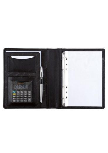 Alassio® Ringbuchmappe »DIN A5, Benaco«, mit Taschenrechner