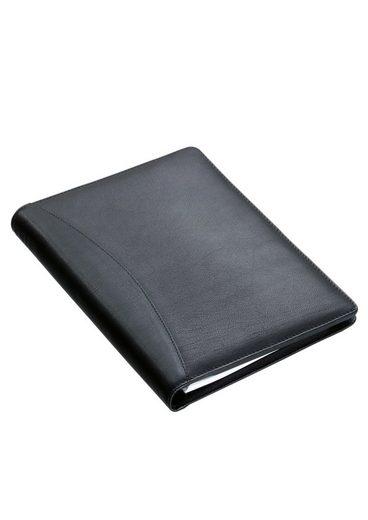 Taschenrechner Ringbuchmappe Alassio® »benaco Mit A5 Nappaleder Aus 1« HwAwnqFI