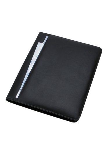 Nappaleder »cremona« A4 Alassio® Schreibmappe Aus wZEPPF