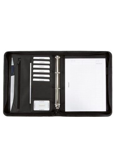 Alassio® Ringbuchmappe »DIN A4, Office Set«, mit Taschenrechner