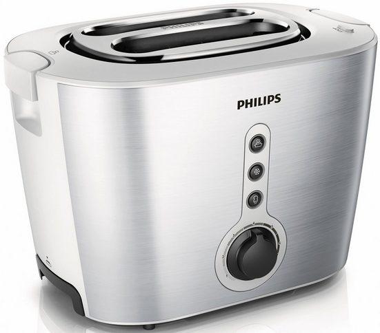 Philips Toaster HD2636/00, 2 kurze Schlitze, 1000 W