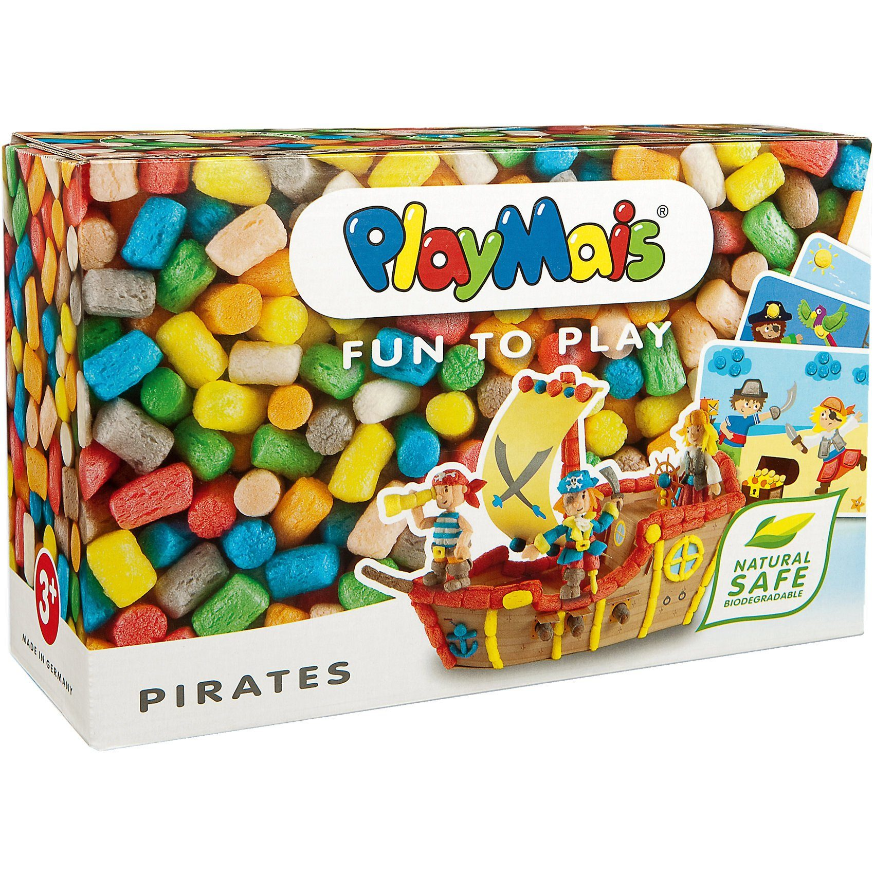 PlayMais FUN TO PLAY Piraten, 550 Maisbausteine