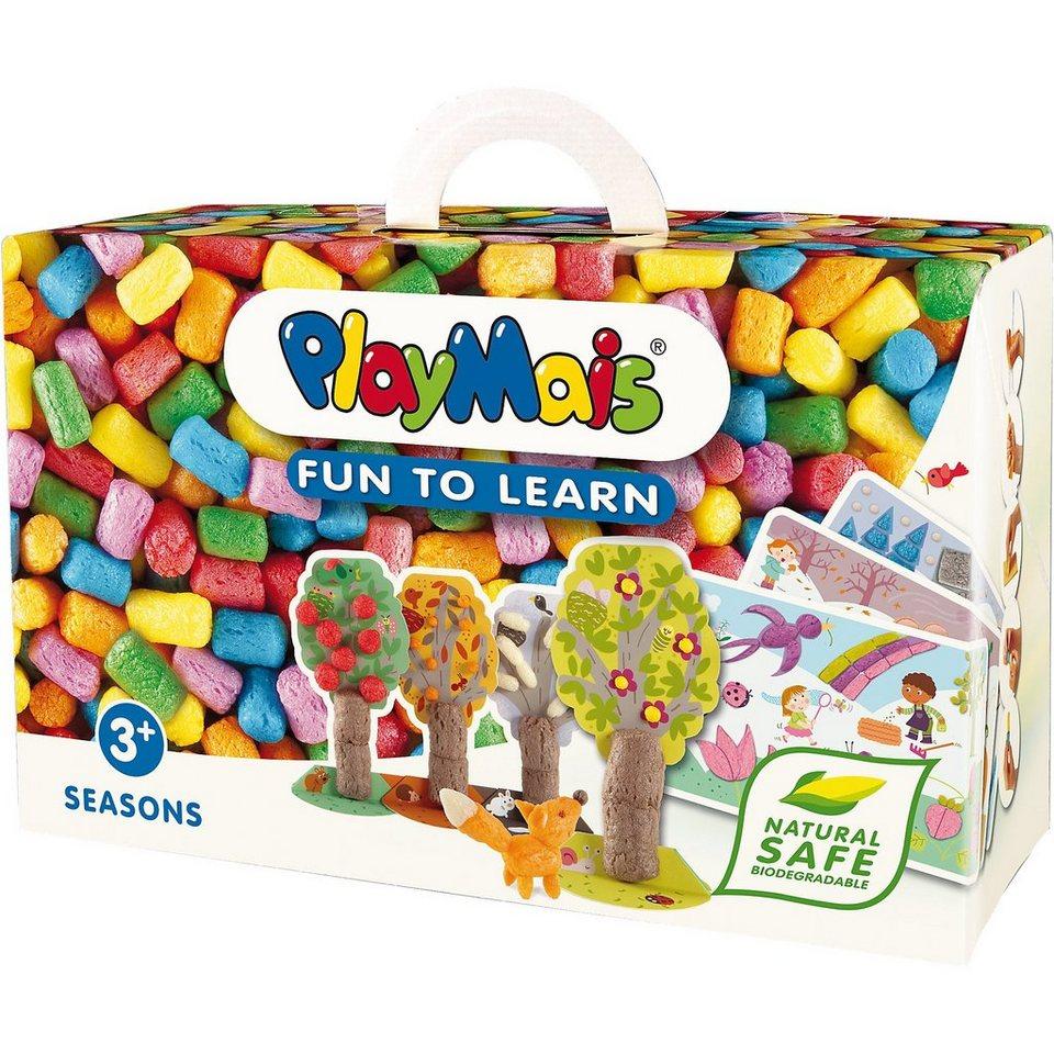 PlayMais FUN TO LEARN Jahreszeiten, 550 Maisbausteine