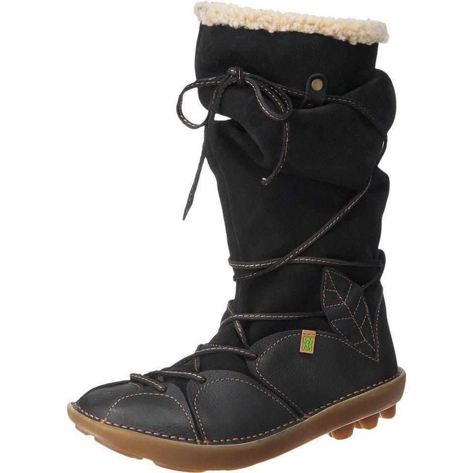 EL NATURALISTA Organico Stiefel in schwarz