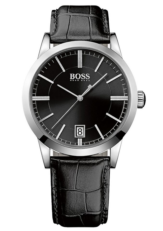 "BOSS, Armbanduhr, ""SUCCESS, 1513129"" in schwarz"