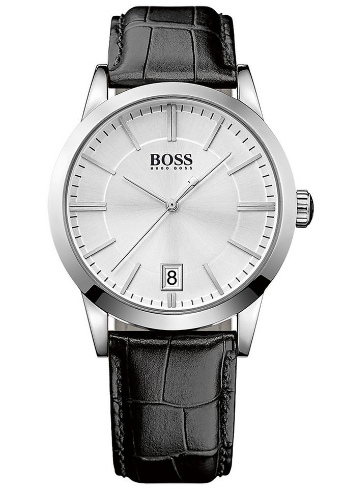"BOSS, Armbanduhr, ""SUCCESS, 1513130"" in schwarz-silberfarben"