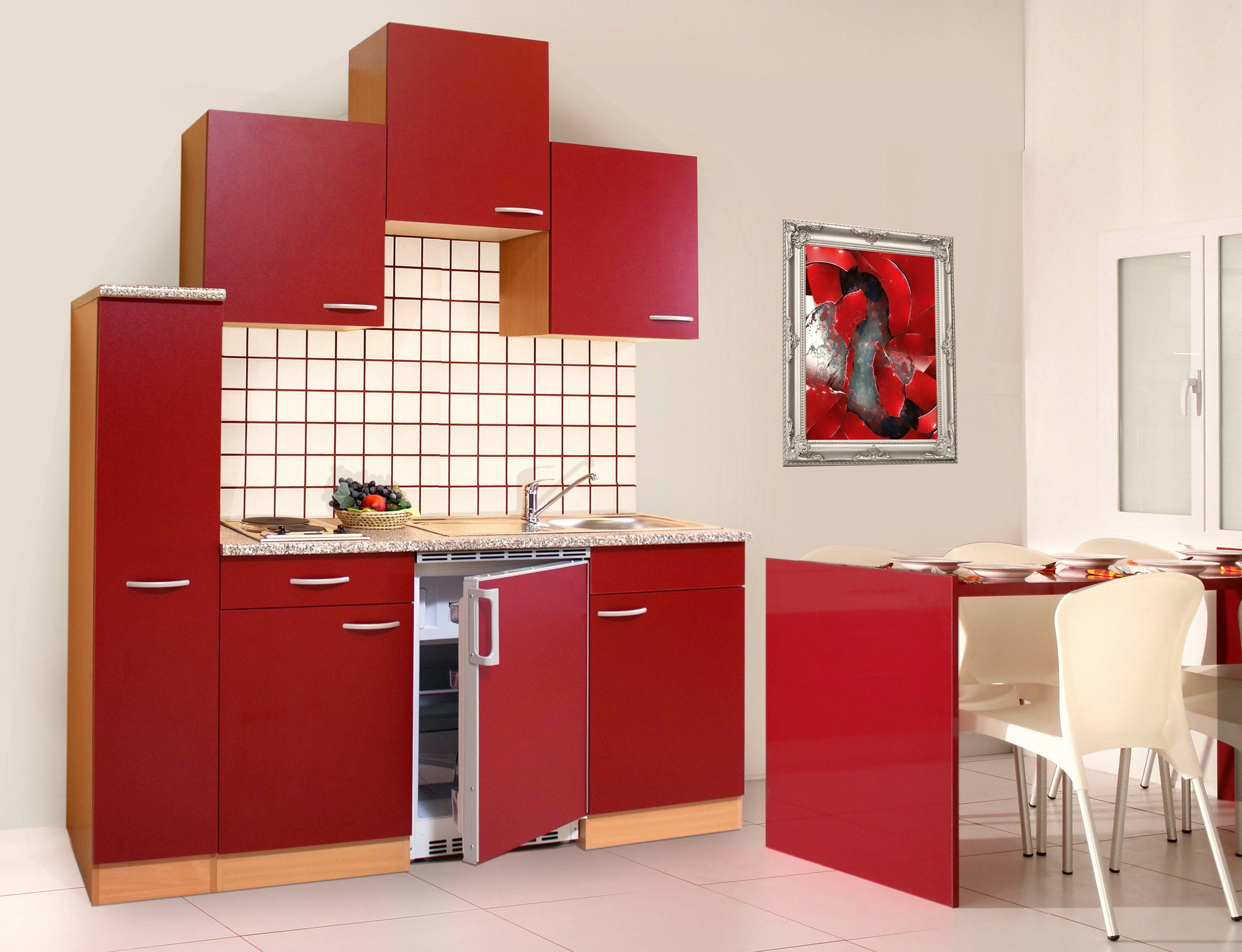 Miniküche Mit Kühlschrank Hagebaumarkt : Blau eiche miniküchen online kaufen möbel suchmaschine