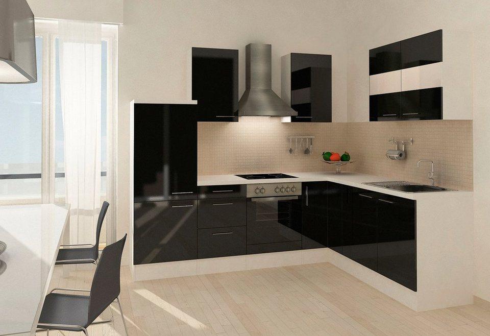 respekta küchenzeile mit e-geräten »mia«, 260 x 200 cm, set 2
