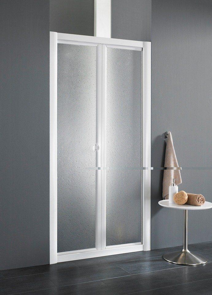 Nischentür »Domino«, Duschtür mit Verstellbereich von 83-90 cm