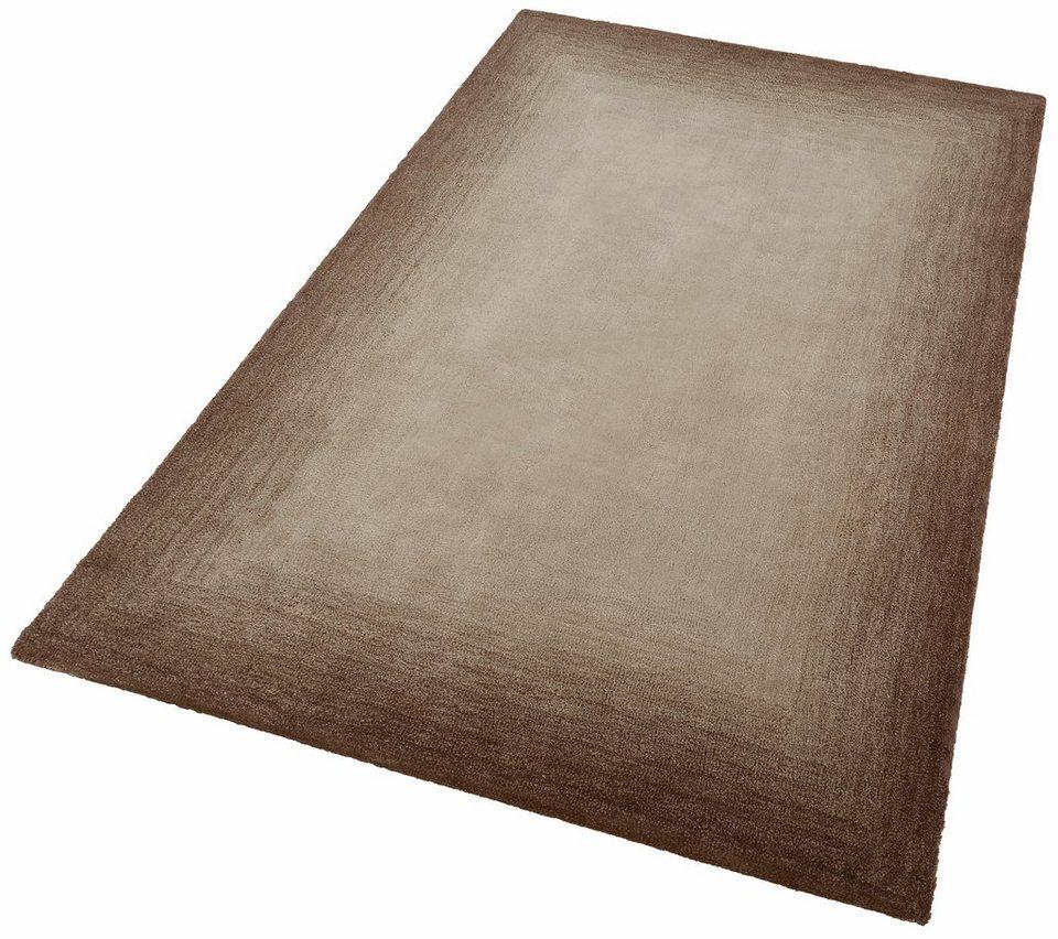 Teppich, Theko, »Hula«, handgetuftet in beige