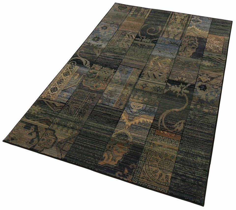 Teppich, Oriental Weavers, »Gabiro 5504«, Melange-Effekt, gewebt in blau