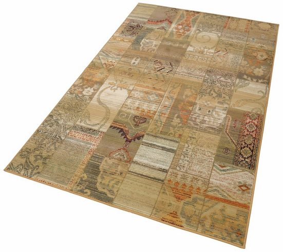 Teppich »Gabiro 5504«, THEKO, rechteckig, Höhe 12 mm, Melange-Effekt
