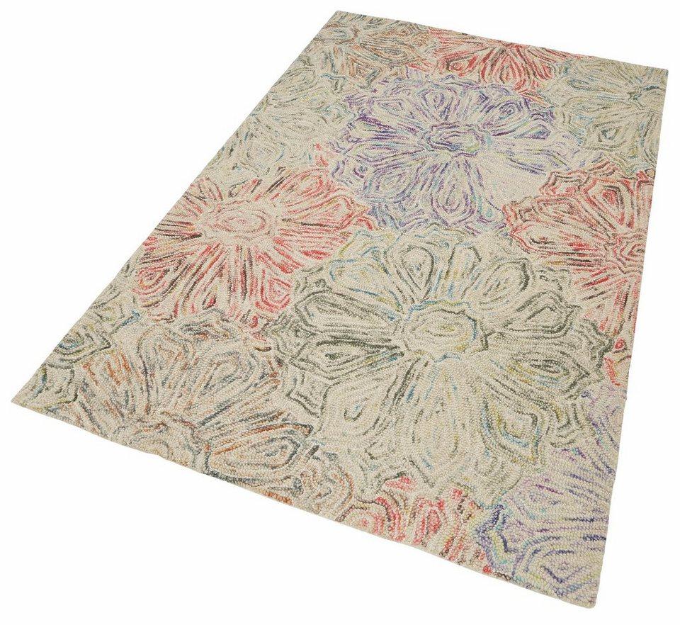 Teppich, Theko, »Wool 2032«, HochTiefEffekt