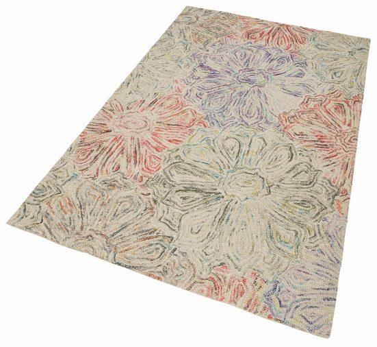 Teppich »Wool 2032«, THEKO, rechteckig, Höhe 20 mm