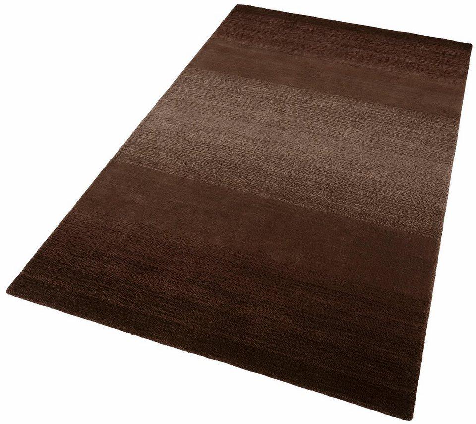 Teppich, Theko, »Wool Comfort«, handgearbeitet, Wolle