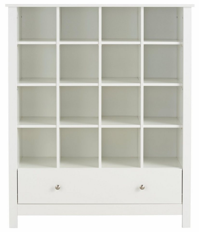 Home affaire Regal »Justin«, Höhe 120 cm in weiß