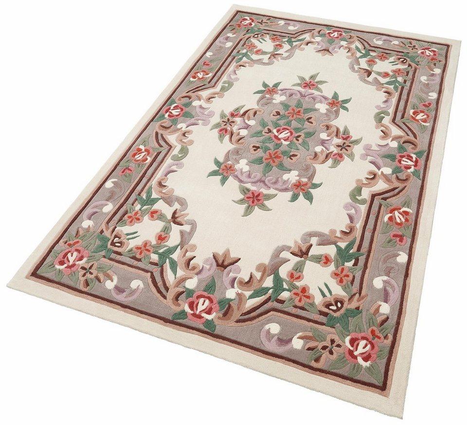 Teppich, Theko, »Ming«, handgetuftet in beige