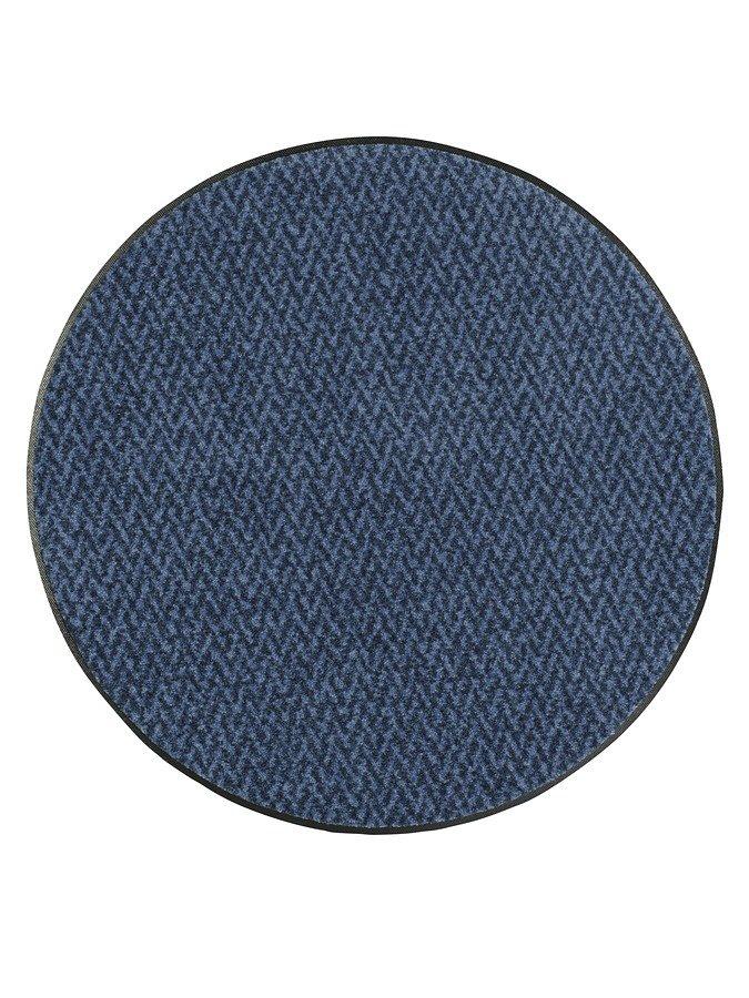 wash & dry Fußmatte in blau