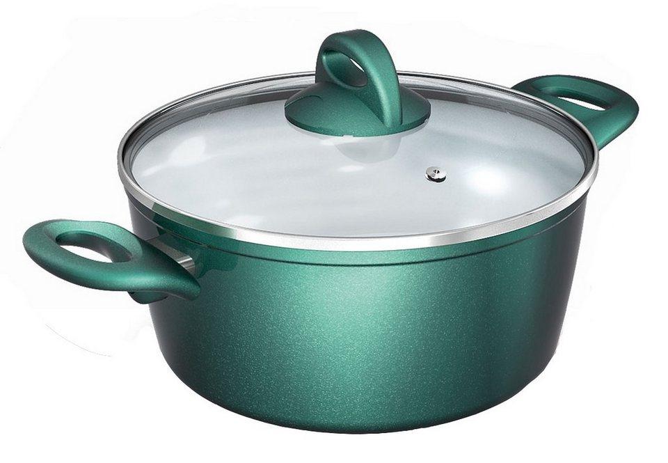 Kochtopf, Genius®»Cerafit®-Fusion Smaragdgrün-Edition« in grün
