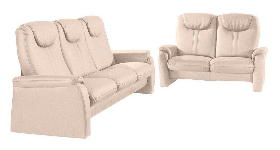 Sit & More Set 2-Sitzer und 3-Sitzer in natur
