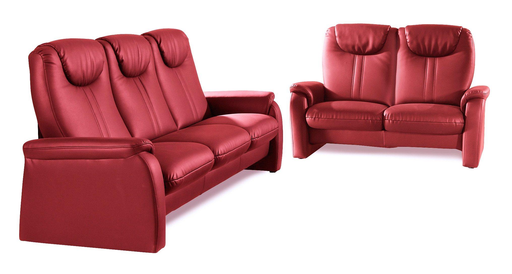 sit&more Set 2-Sitzer und 3-Sitzer | Wohnzimmer > Sofas & Couches > Garnituren | Microfaser - Kunstleder | sit\&more