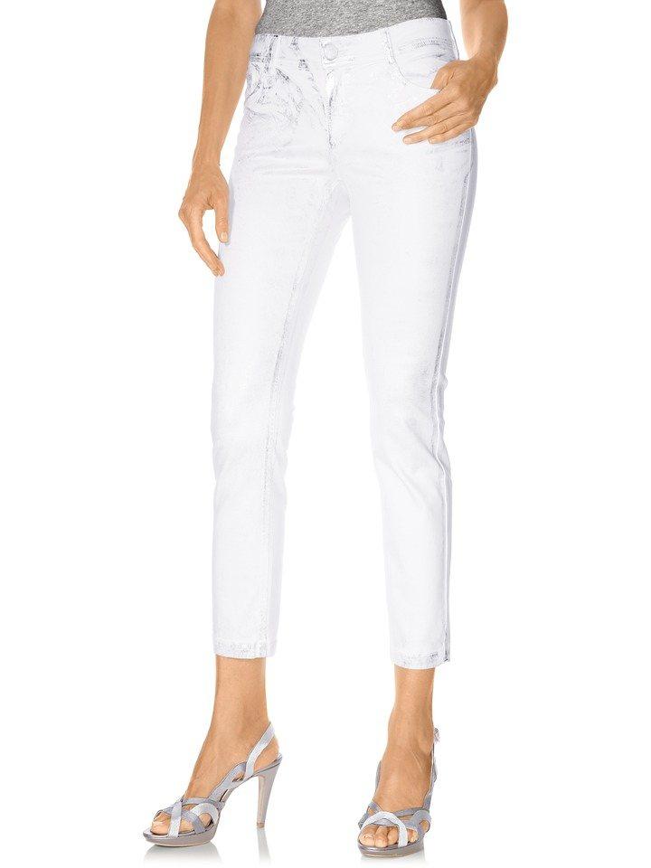 RICK CARDONA by Heine 7/8-Jeans in weiß