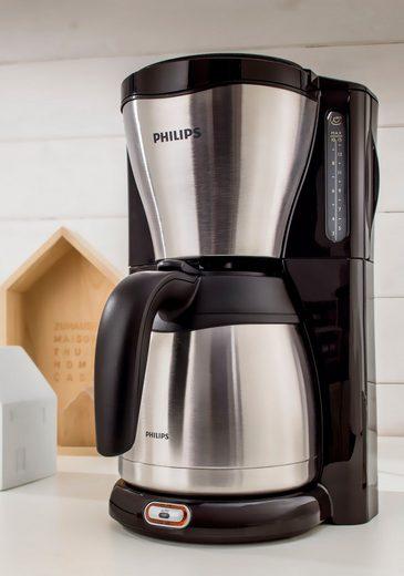 Philips Filterkaffeemaschine HD7546/20 Thermo, 1,2l Kaffeekanne, 1x4
