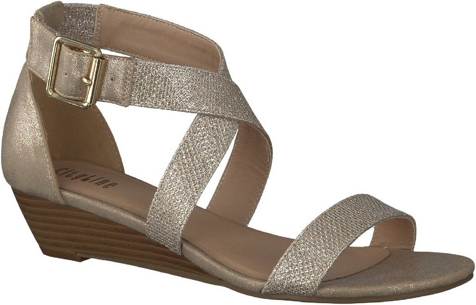 Cityline Women Sandalen in gold