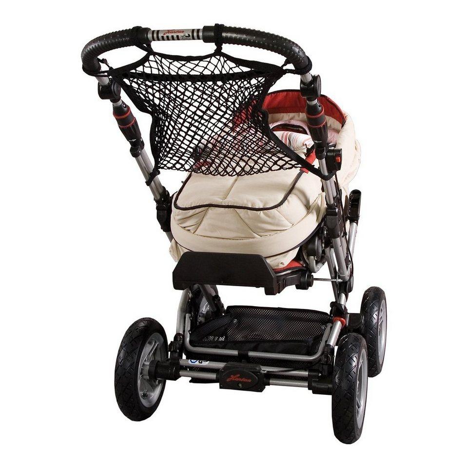 sunnybaby Universalnetz für Kinderwagen, mit Anker, schwarz in schwarz