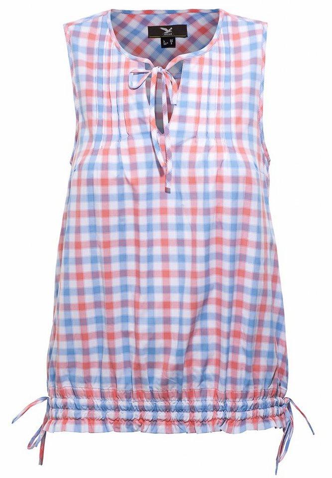 Salewa Tanktop »Saint Veran Dry S/L Shirt Women« in blau