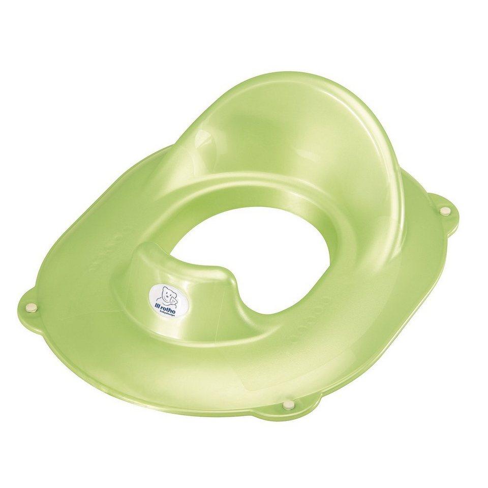 ROTHO BABYDESIGN TOP WC-Sitz in lindgrün perl