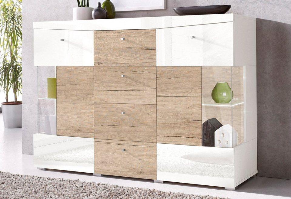 sideboard breite 132 cm online kaufen otto. Black Bedroom Furniture Sets. Home Design Ideas