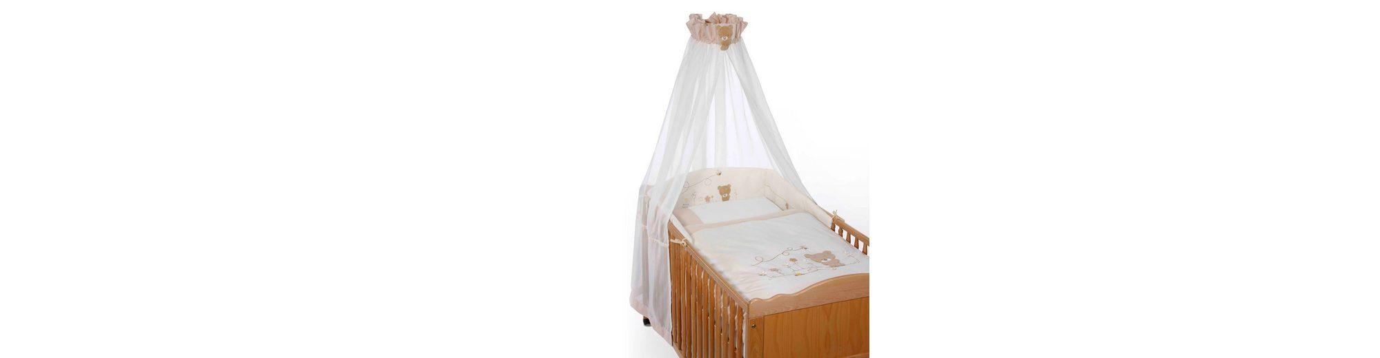 EASY BABY 4-tlg. Babybettausstattung Honey Bear