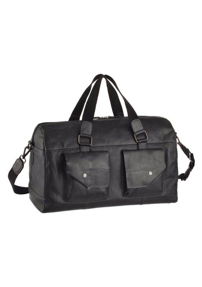 Bruno Banani Weekender Tasche mit Umhängegurt in schwarz