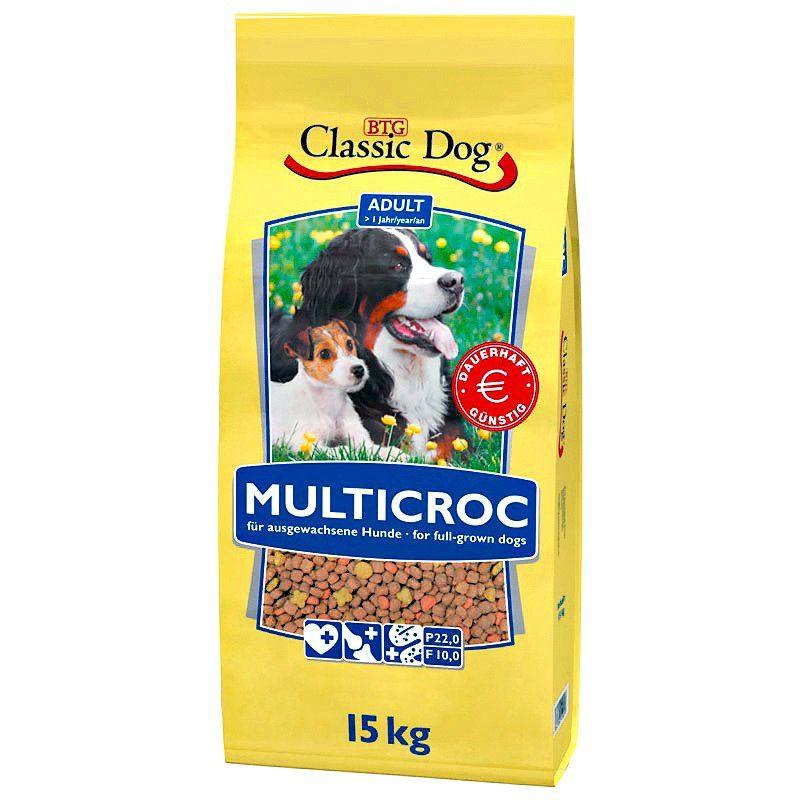 Hundetrockenfutter »Multicroc«, 15 kg