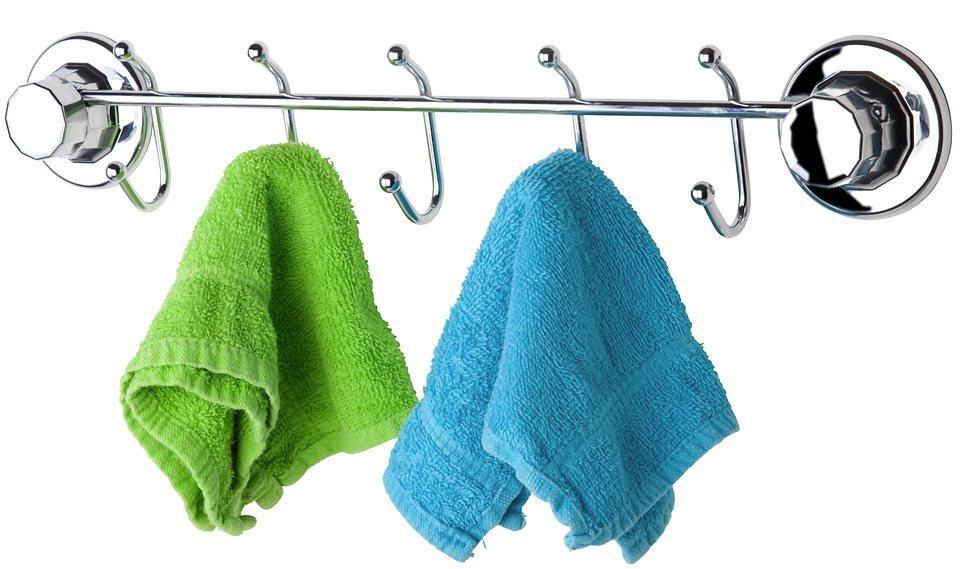 Handtuchhalter »Paris« in silberfarben