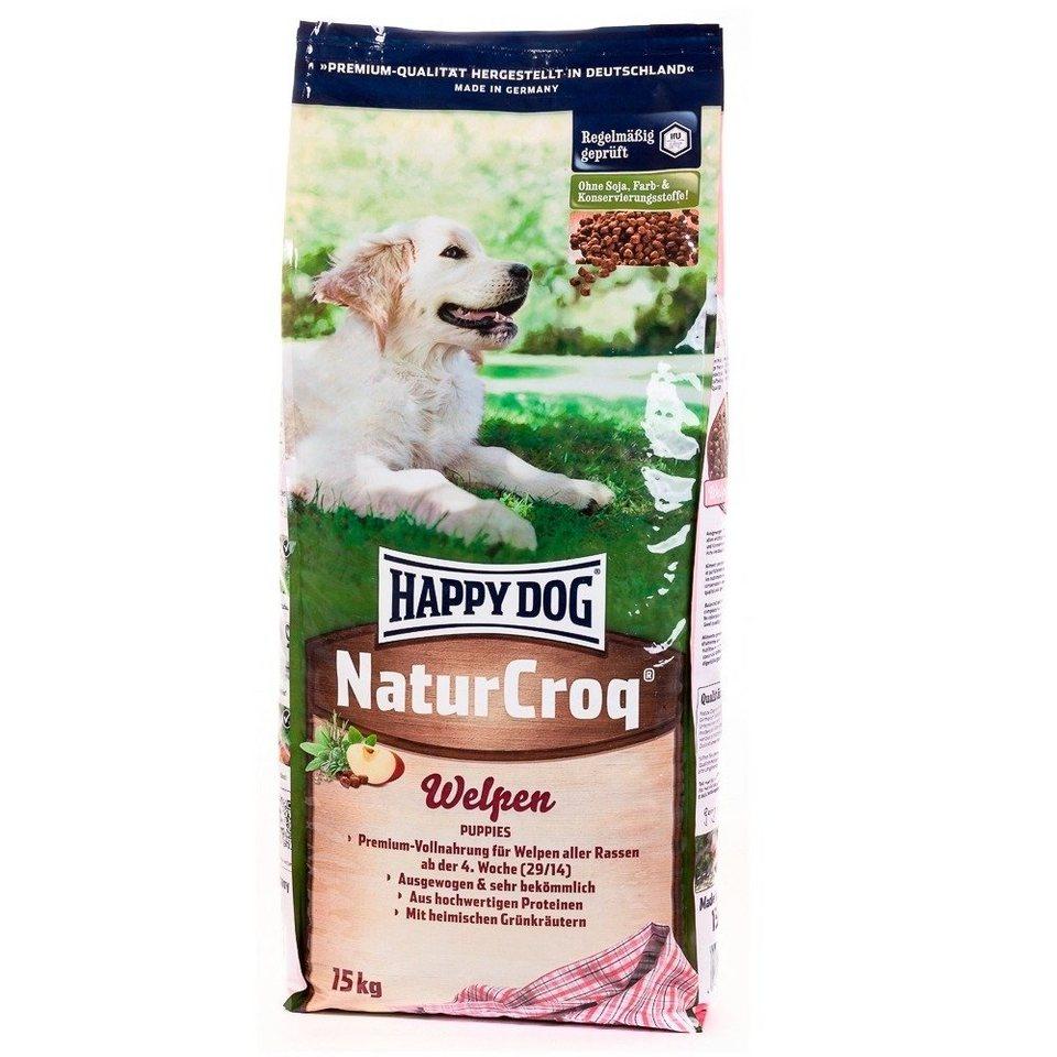 Hundetrockenfutter »NaturCroq Welpen«, 15 kg in braun